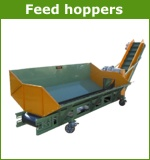 Feed hoppers